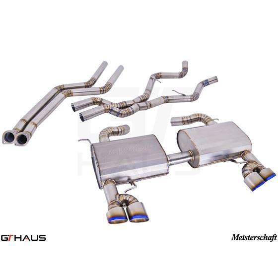GTHAUS GT Racing Exhaust- Titanium- BM0412204-4