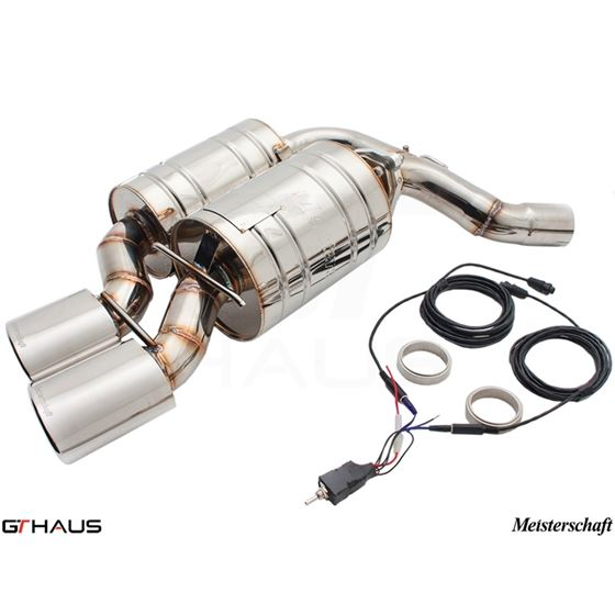 GTHAUS GTC Exhaust (EV Control) AL Shield Includ-4