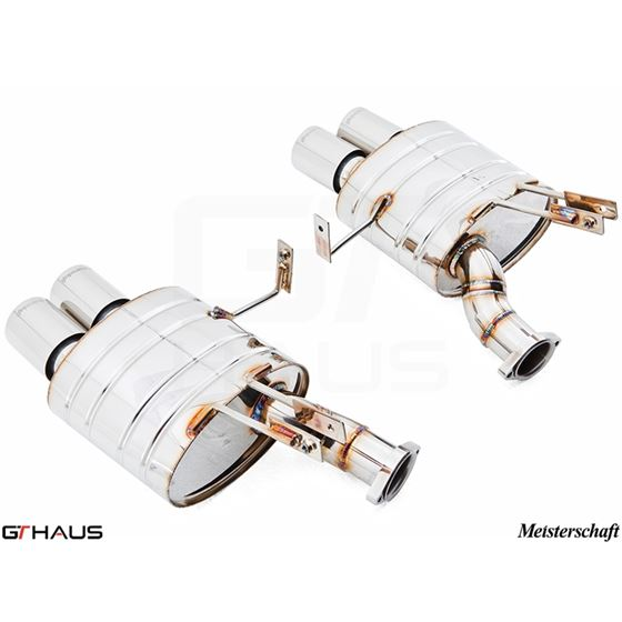 GTHAUS HP Touring Exhaust- Stainless- BM2021104-4