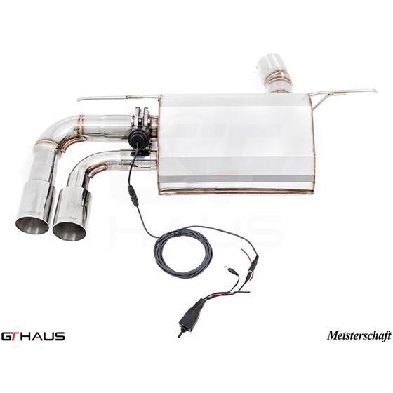 GTHAUS GTC Exhaust (EV Control)- Stainless- BM28-2