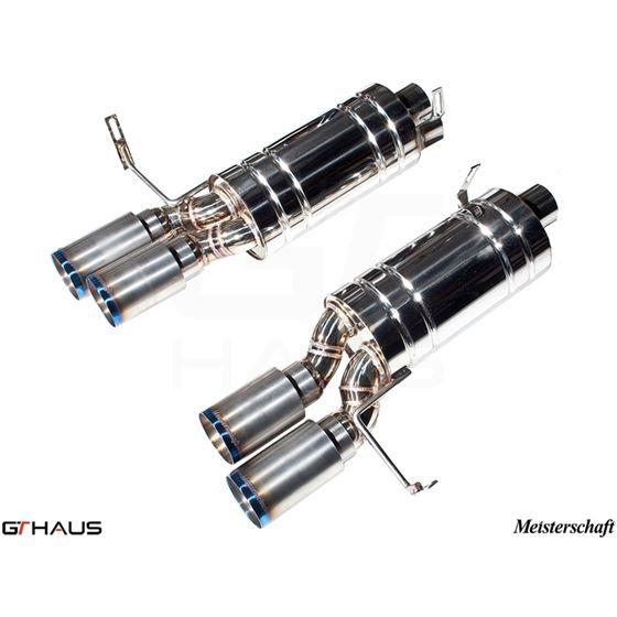 GTHAUS GT Racing Exhaust- Titanium- BM1912204-4