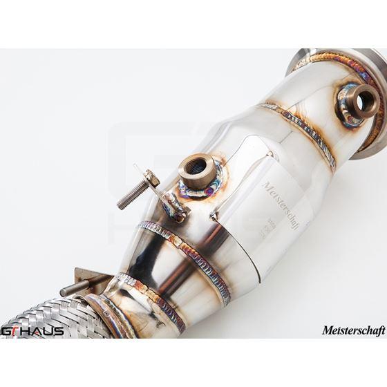 GTHAUS (N55 435i) Turbo Back Down Pipe - no cat-4
