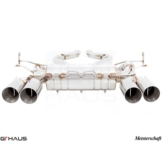 GTHAUS HP Touring Exhaust (Includes SUS SR Pipes-2