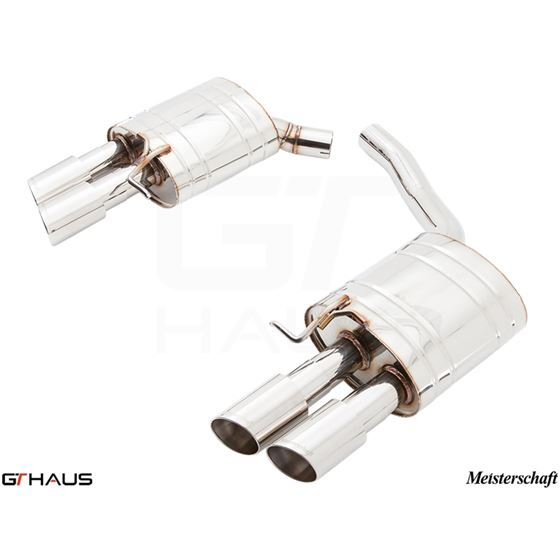 GTHAUS HP Touring Exhaust- Stainless- AU0711104-4