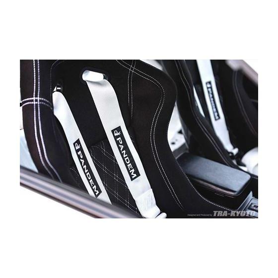 Pandem Safety Harness 6-Pt, White-2
