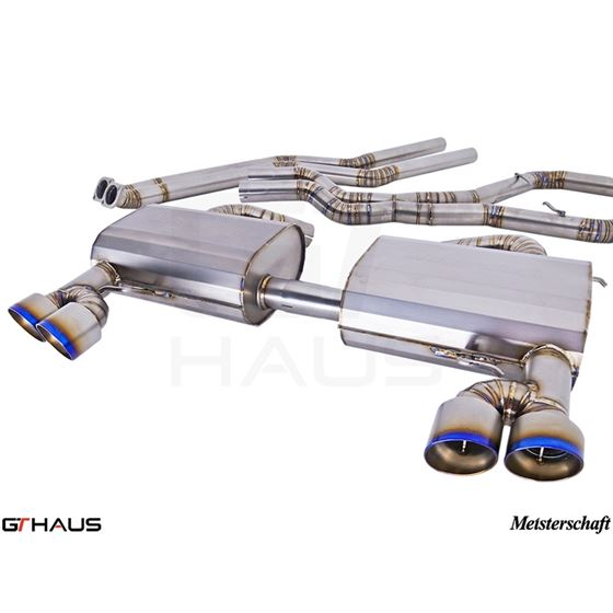 GTHAUS GT Racing Exhaust- Titanium- BM0422204-4