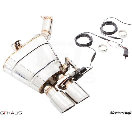 GTHAUS GTC Exhaust (EV Control)- Titanium- BM252-2