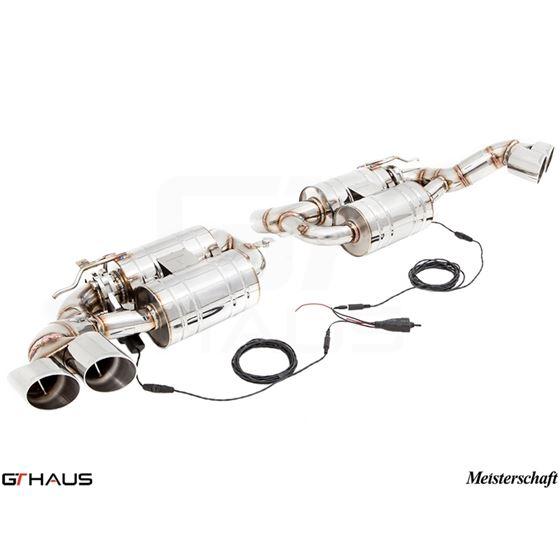 GTHAUS GTC Exhaust (EV Control)- Stainless- BM23-2
