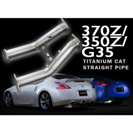 FULL TITANIUM CAT STRAIGHT PIPE KIT EXPREME Ti Z33 VQ35DE TB6100 NS04A 2