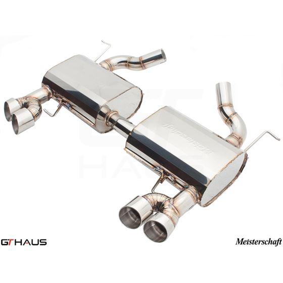 GTHAUS GT Racing Exhaust- Stainless- BM0411204-2