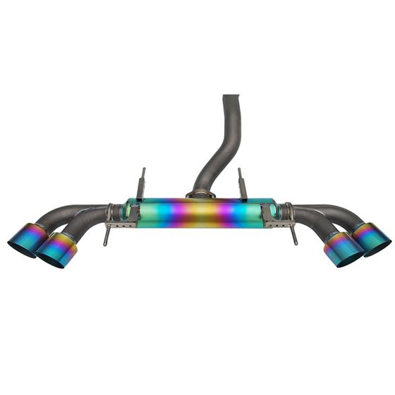 Invidia 08+ Nissan GT-R Full Titanium Cat-back E-2