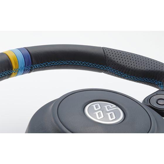 GReddy All-Leather Steering Wheel w/ TRUST 3 Col-4