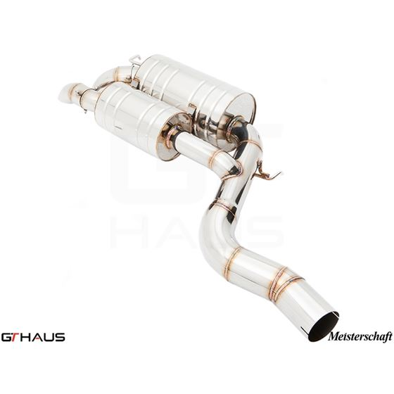 GTHAUS HP Touring Exhaust- Stainless- BM1711100-4