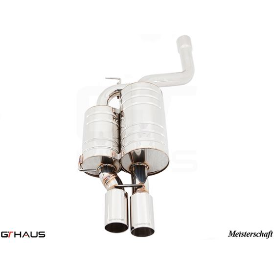 GTHAUS HP Touring Exhaust- Stainless- BM0911101-2
