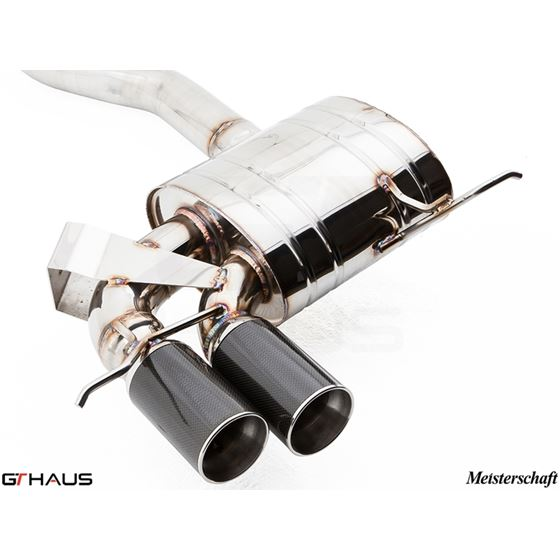 GTHAUS GT Racing Exhaust- Stainless- BM0121201-2