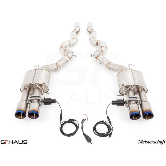 GTHAUS GTC Exhaust (EV Control) (Ti Rear Unit +-2