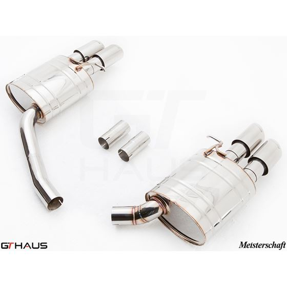 GTHAUS GT Racing Exhaust- Stainless- AU0821204-4