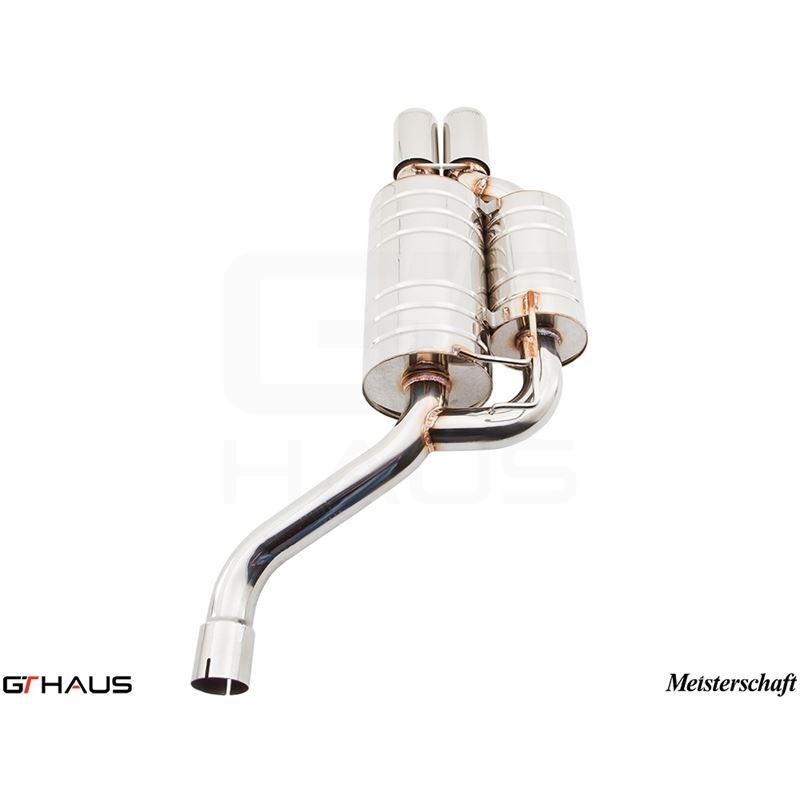 GTHAUS GT Racing Exhaust- Stainless- BM0711222