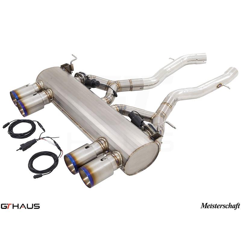 GTHAUS GTC Exhaust (EV Control)- Titanium- BM32126