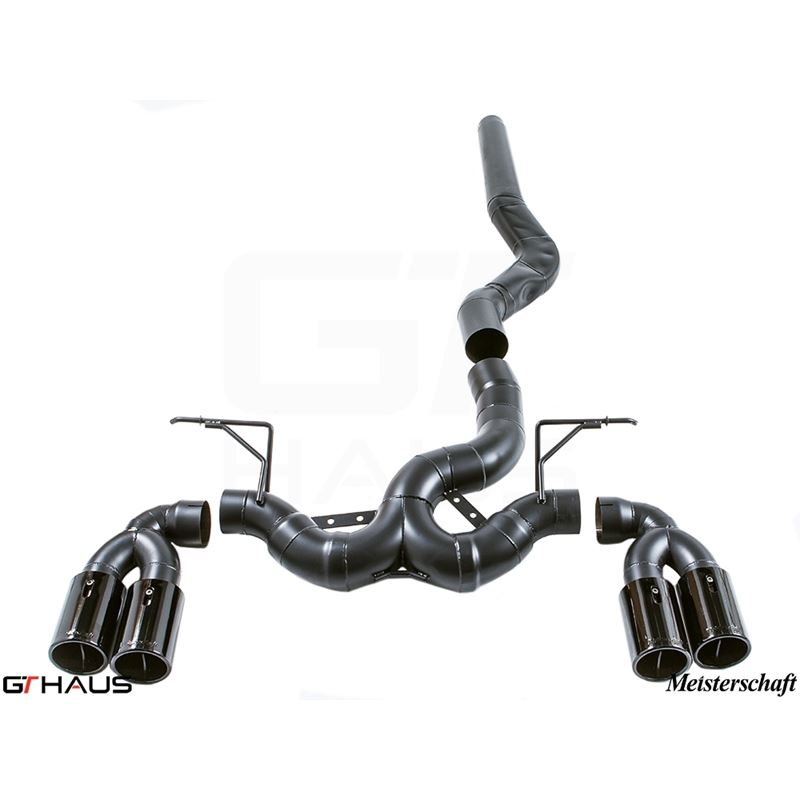GTHAUS Super GT Racing Exhaust (Includes Optional