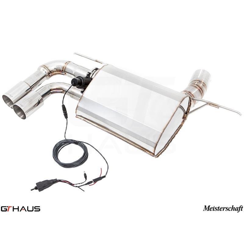 GTHAUS GTC Exhaust (EV Control)- Stainless- BM0631
