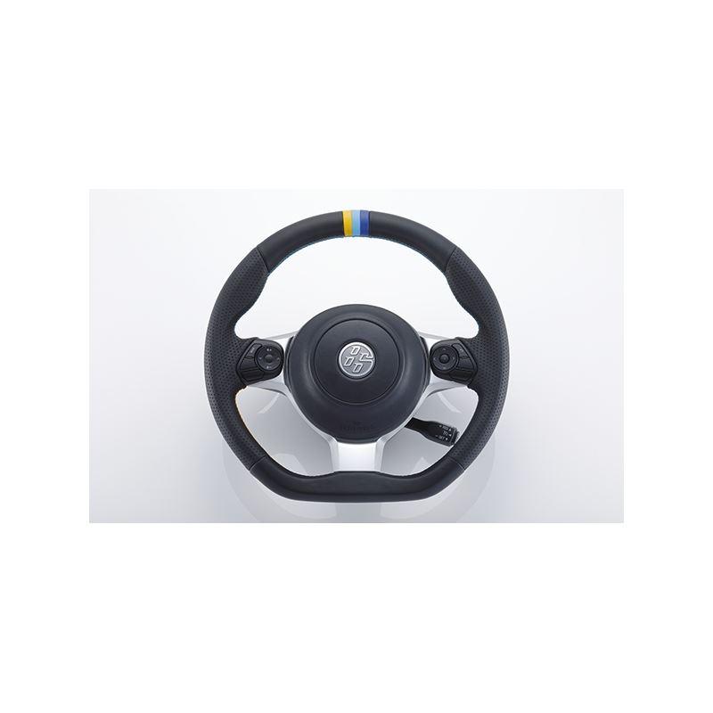 GReddy All-Leather Steering Wheel w/ TRUST 3 Color