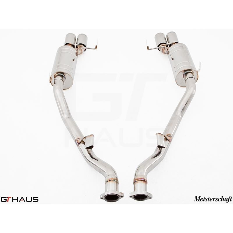 GTHAUS GT Racing Exhaust- Stainless- BM1921204