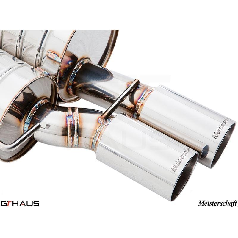 GTHAUS GT Racing Exhaust- Titanium- BM0912201