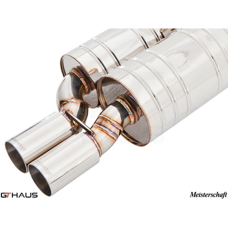 GTHAUS GT Racing Exhaust- Titanium- BM0722222