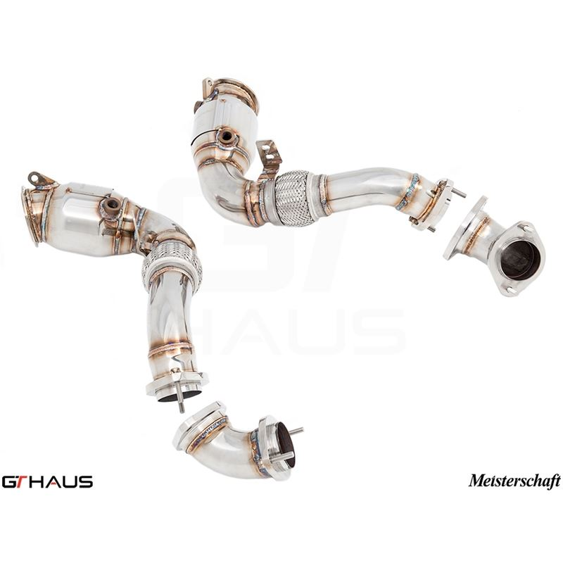 GTHAUS Down Pipe Section (X6M S63 / X6 5.0i)- Stai
