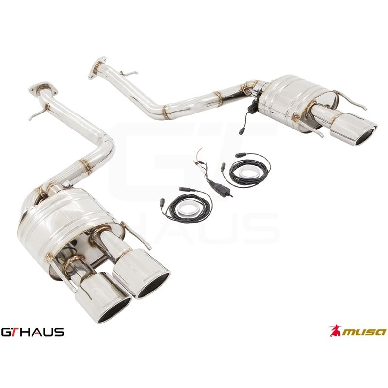 GTHAUS GTC Exhaust (EV Control)- Stainless- LE0321