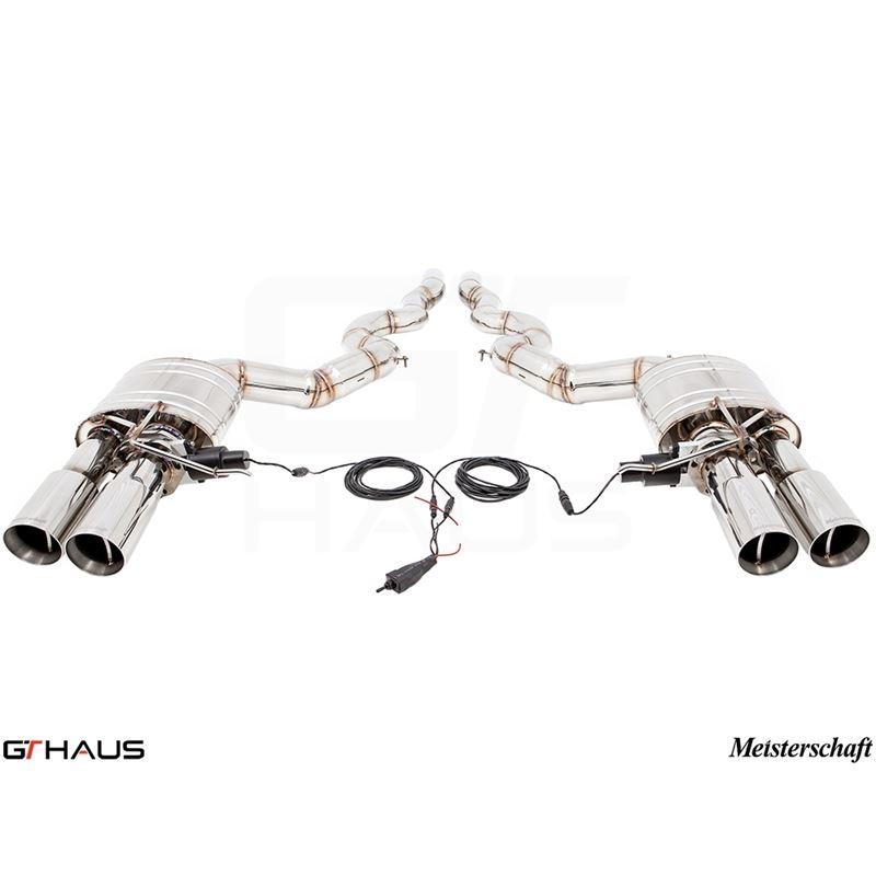 GTHAUS GTC Exhaust (EV Control)- Stainless- BM1611