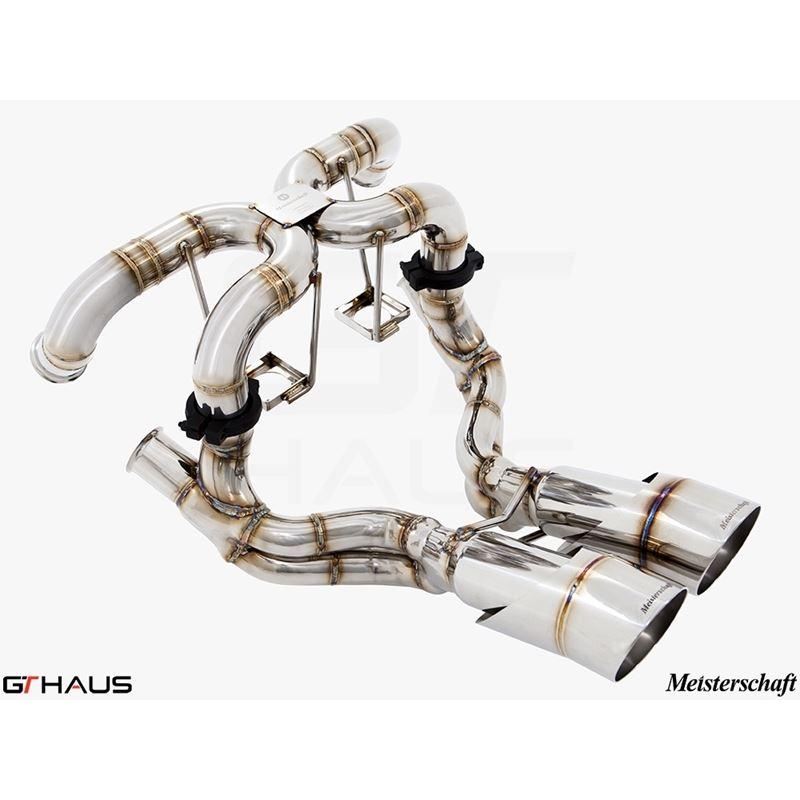 GTHAUS Super GT Racing Exhaust- Titanium- LA021242