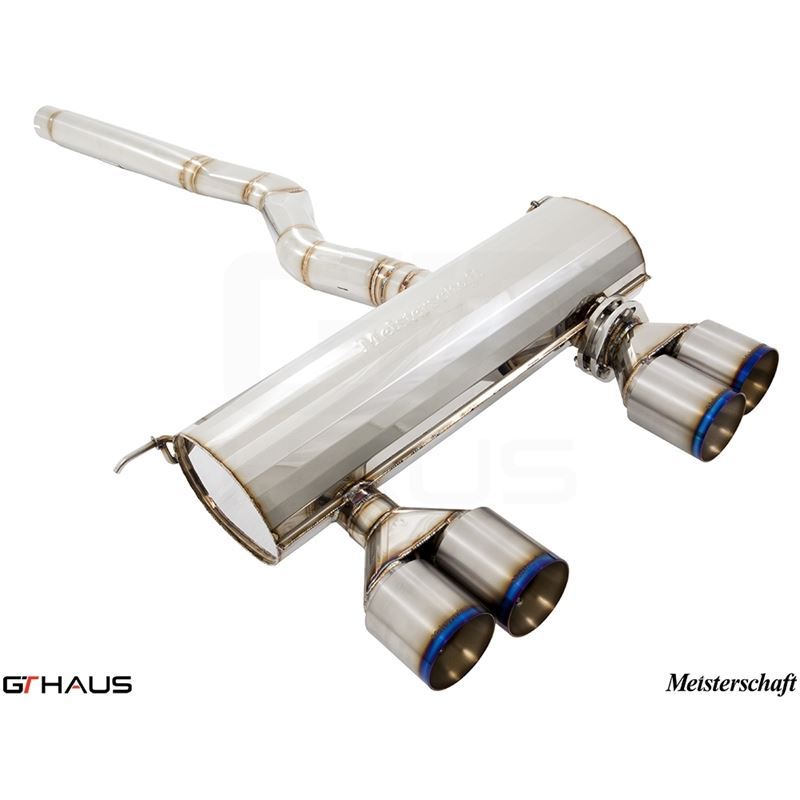 GTHAUS GTS Exhaust (Ultimate Performance) includes