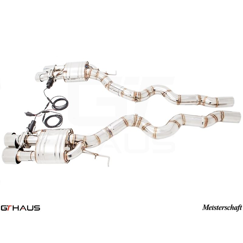 GTHAUS GTC Exhaust (EV Control) (Ti Rear Unit + SU