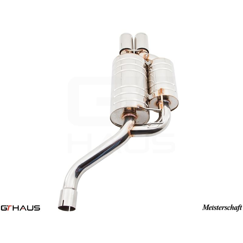 GTHAUS GT Racing Exhaust- Stainless- BM0721222