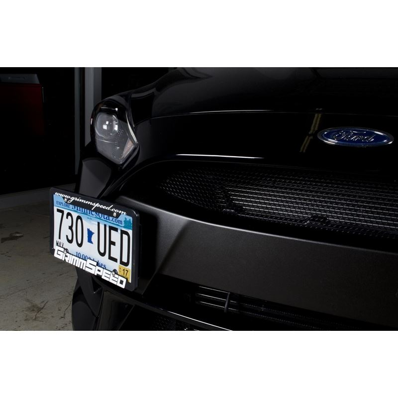 GrimmSpeed License Plate Relocation Kit -  Ford Fo