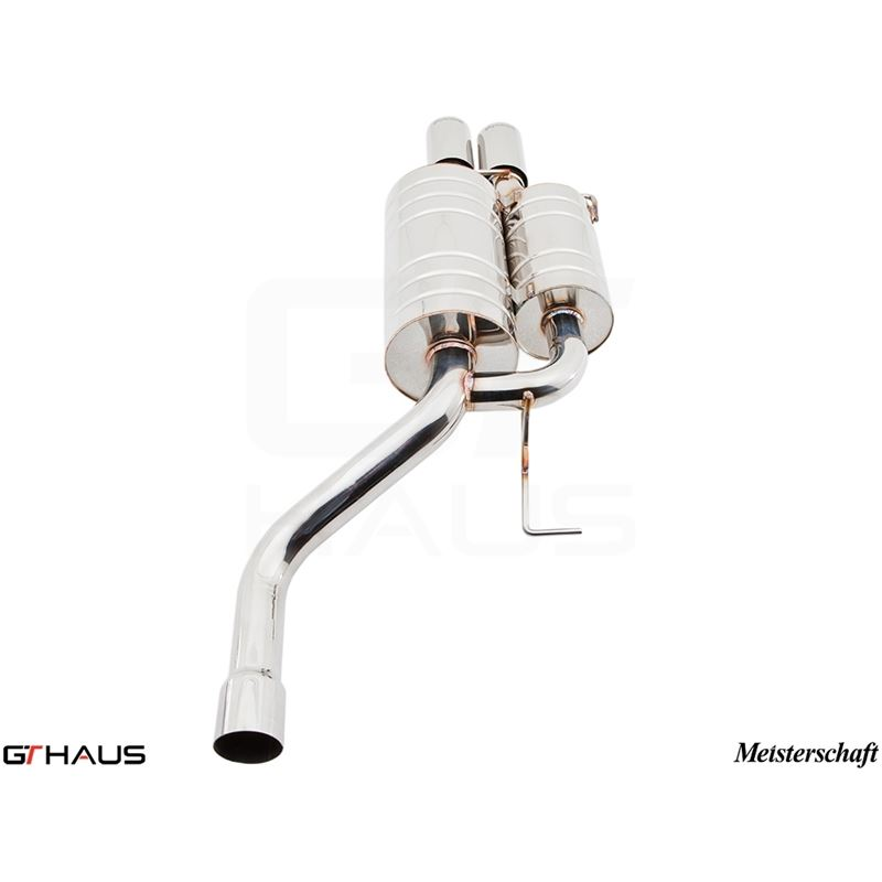 GTHAUS GT Racing Exhaust- Stainless- BM0931201
