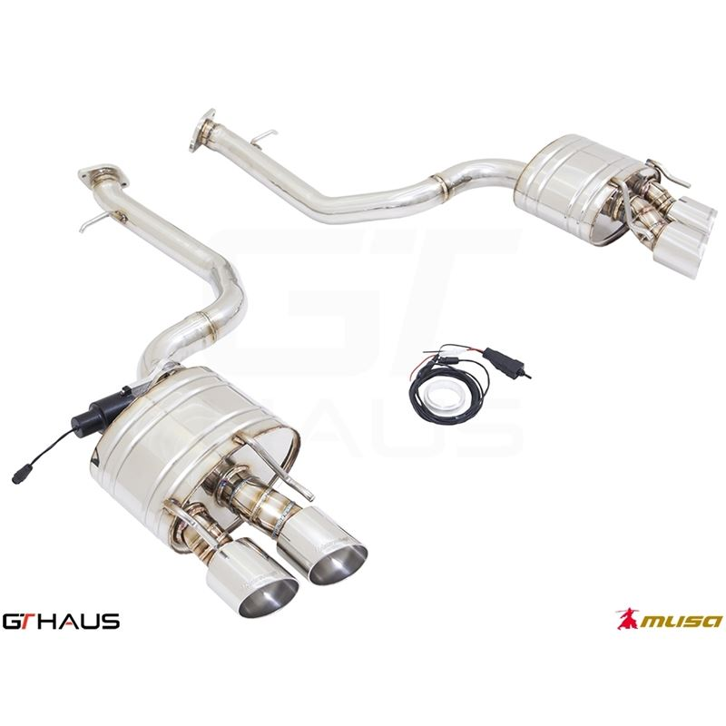 GTHAUS GTC Exhaust (EV Control)- Stainless- LE0511