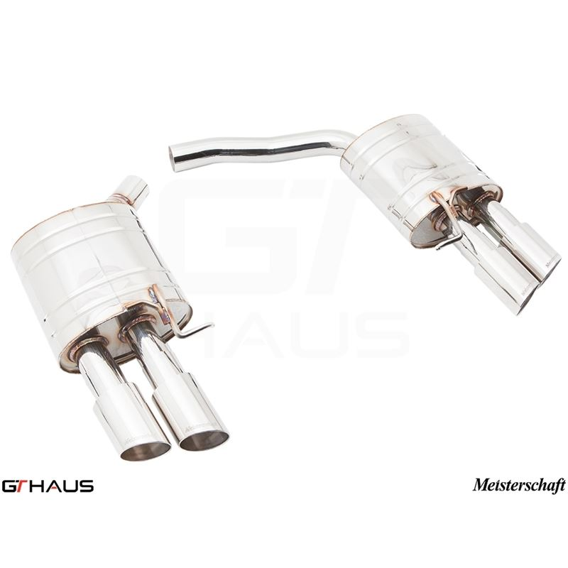 GTHAUS HP Touring Exhaust- Stainless- AU0711104