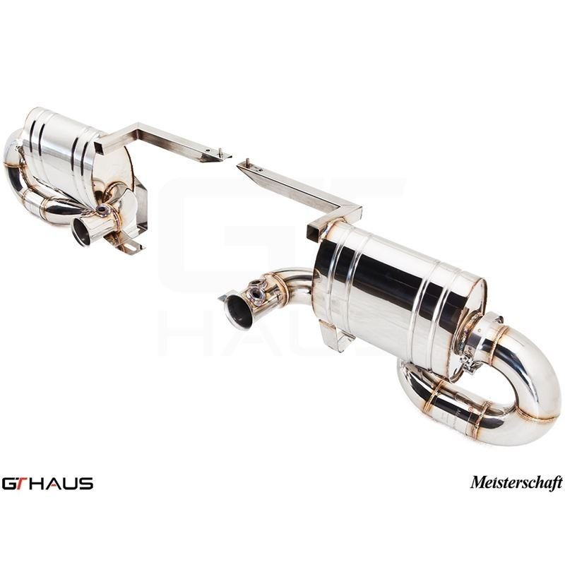 GTHAUS Super GT Racing Exhaust- Stainless- LA01214