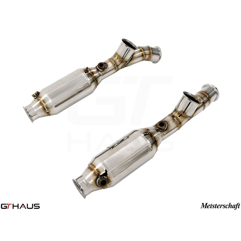 GTHAUS SR cat-bypass pipes- Stainless- LA0223001