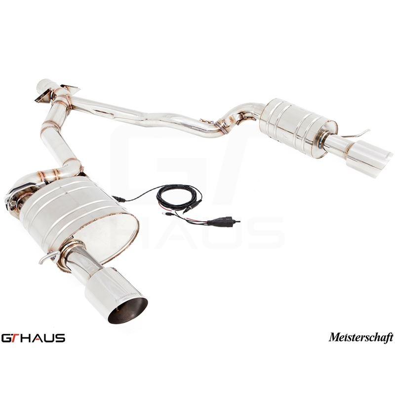 GTHAUS GTC Exhaust (EV Control)- Stainless- BM2111