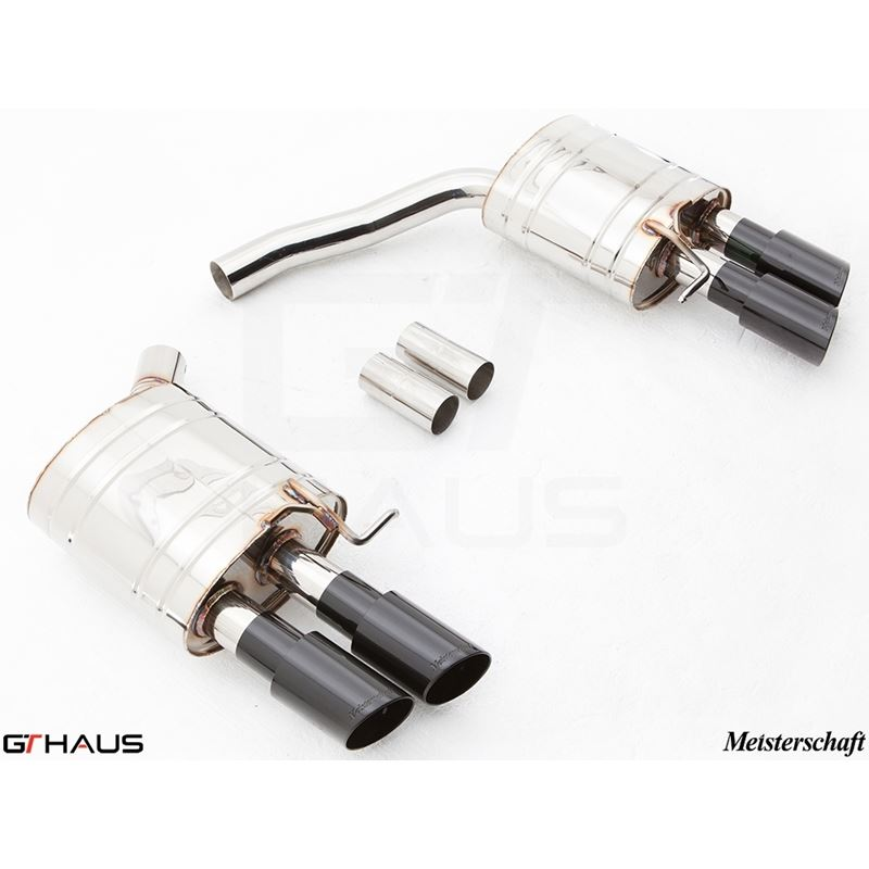 GTHAUS GT Racing Exhaust- Stainless- AU0611204