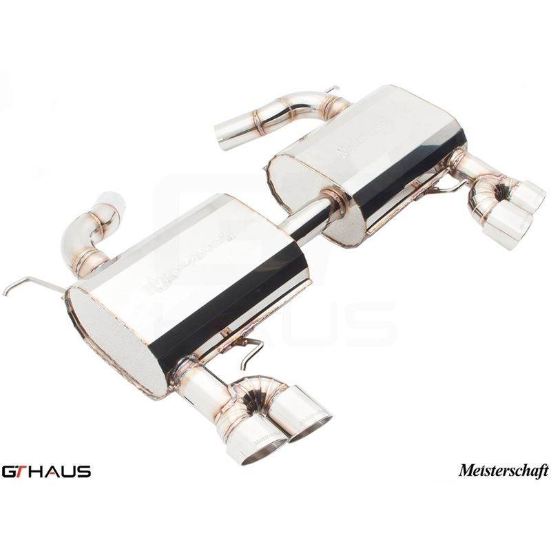 GTHAUS HP Touring Exhaust- Stainless- BM0421104