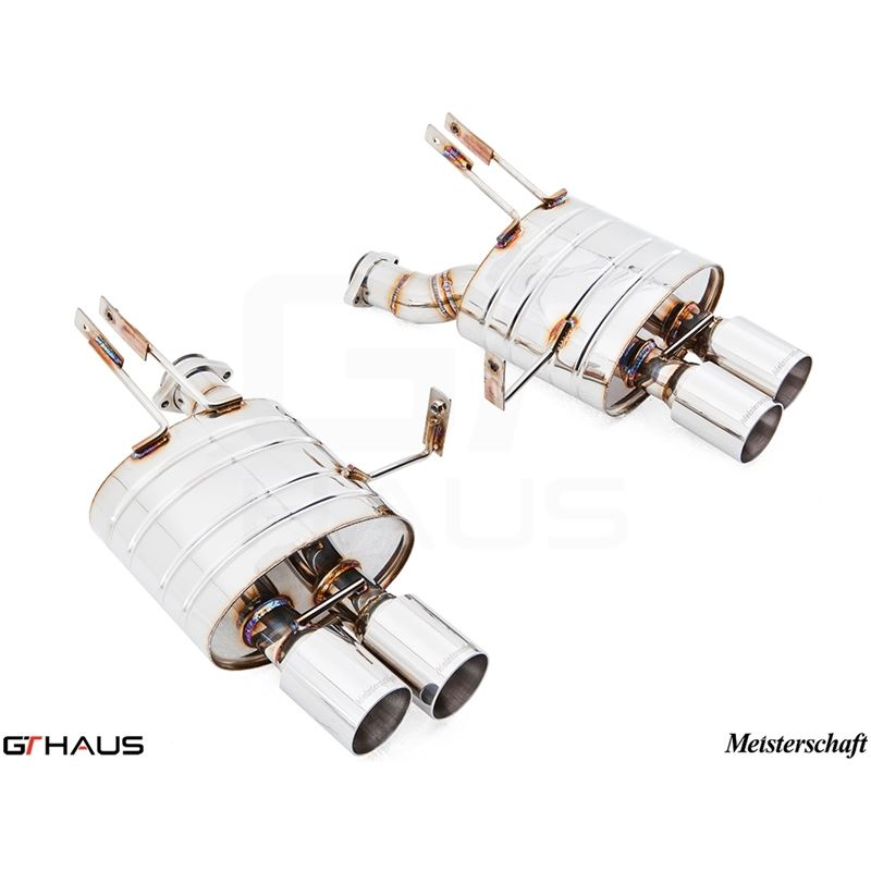 GTHAUS HP Touring Exhaust- Stainless- BM2021104