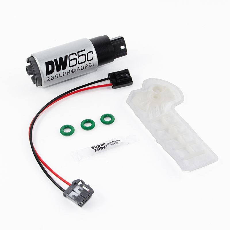 DW65C series, 265lph compact fuel pump (in-tank) w
