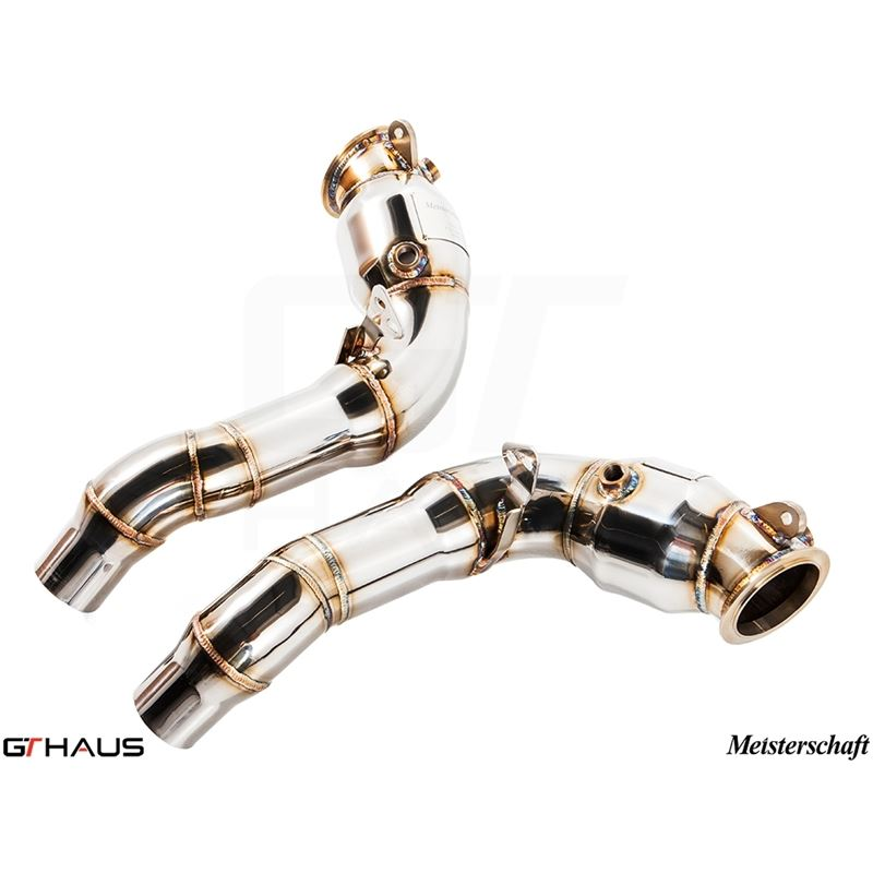 GTHAUS Down Pipe Section - cat elimination pipes (