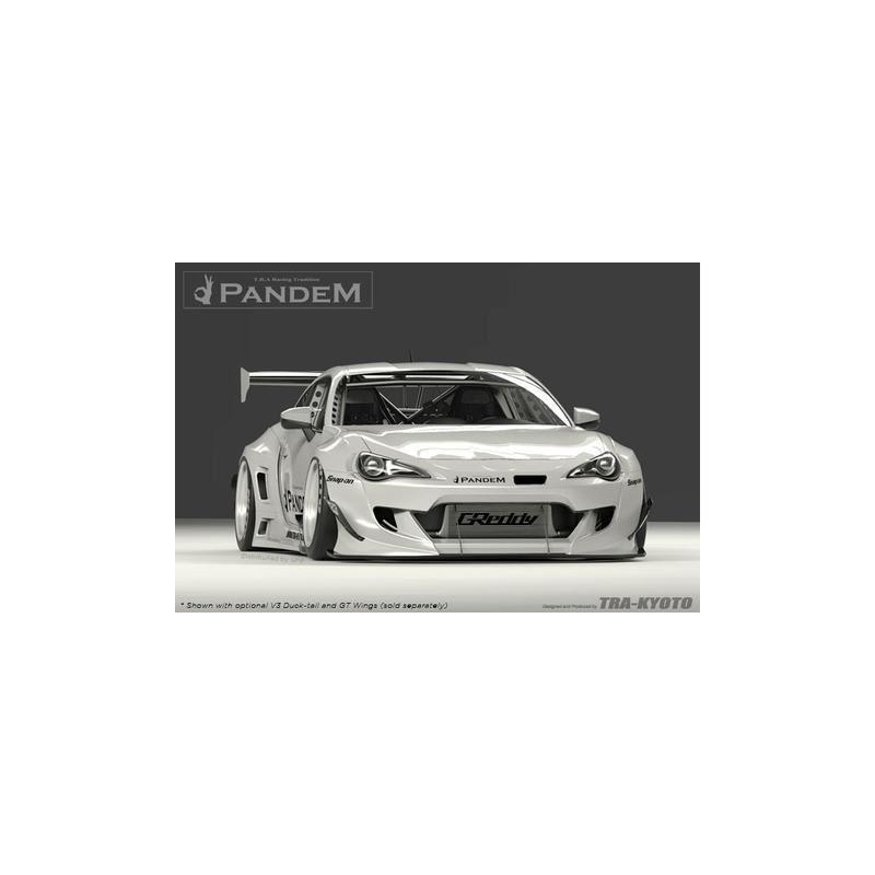 PANDEM 86/FRS/BRZ V3 FRONT BUMPER (17010271)