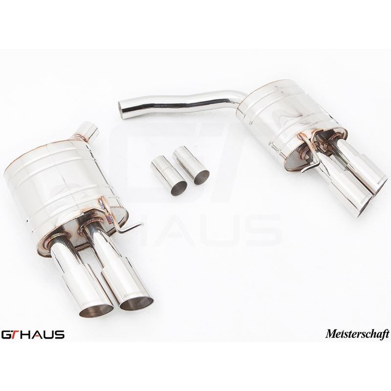 GTHAUS HP Touring Exhaust- Stainless- AU0821102